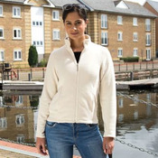 Women's semi-micro fleece jacket