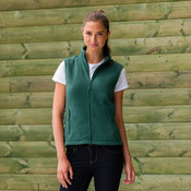 Women's outdoor fleece gilet