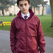 Kids core microfleece lined jacket