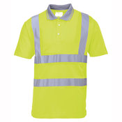 Hi-vis polo shirt (S477/RT22)