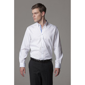 Contrast premium Oxford shirt (button down collar) long sleeve