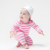 Baby one-knot hat