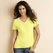 Women's premium cotton v-neck t-shirt