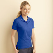 Women's performance double pique sports shirt