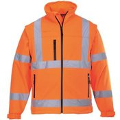 Hi-vis softshell jacket (3L) (S428)