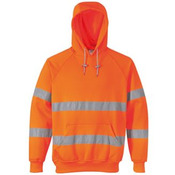 Hi-vis hooded sweatshirt (B304)