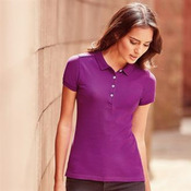 Women's stretch polo