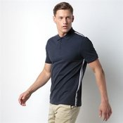Team style slim fit polo shirt