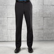 Tailored fit polyester trousers