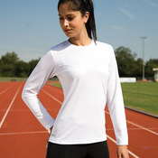 Women's Spiro quick dry long sleeve t-shirt