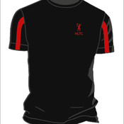 Kids Sports Tee (Black/Red)