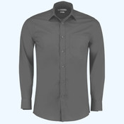 Poplin shirt long-sleeved (tailored fit)