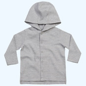 Baby stripy hooded T
