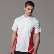 Gamegear® Cooltex® team top v-neck short sleeve