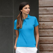 Women's stretch pique polo