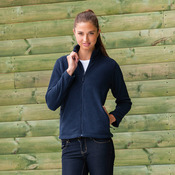 Women's full zip outdoor fleece