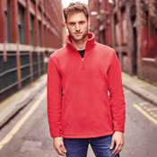 ¼-zip outdoor fleece
