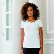 Women's short sleeve stretch top