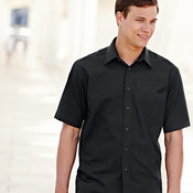 Poplin short sleeve shirt