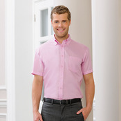 Short sleeve ultimate non-iron shirt
