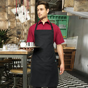 Cotton bib apron, organic and Fairtrade certified