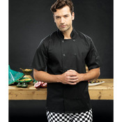 Short sleeve chef's jacket