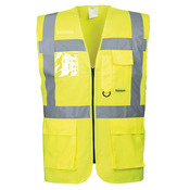 Hi-vis executive vest (S476)