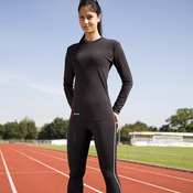 Spiro compression bodyfit base layer long sleeve top