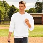 Premium cotton crew neck sweatshirt