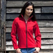 Women's classic softshell jacket