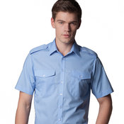 Pilot shirt short-sleeved (tailored fit)