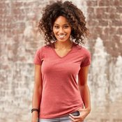 Women's v-neck HD T