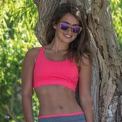Women's fitness crop top