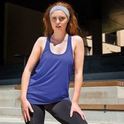 Softex® tank top super soft quick-dry fabric with HighTec stretch