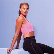 Girlie cool sports crop top