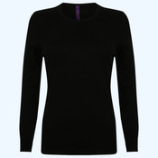 Women's crew neck jumper