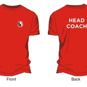 Volunteer's/Head coach T-shirt
