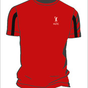 Men's Sports Tee (Red/Black)