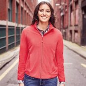 Women's full-zip fitted microfleece