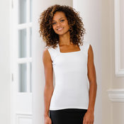 Sleeveless stretch top