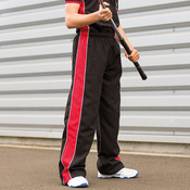 Kids piped track pants