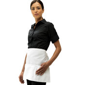 3-open-pocket waist apron